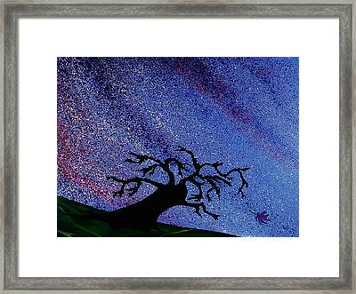 Dragon Tree Framed Print by Winter Frieze