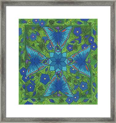 Dragonala Summer Framed Print