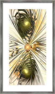 Dragonfly Framed Print by Anastasiya Malakhova