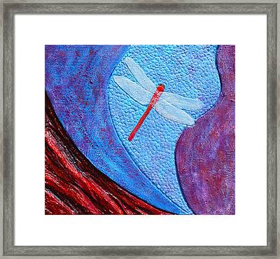 Dragonfly Dance #3 Framed Print