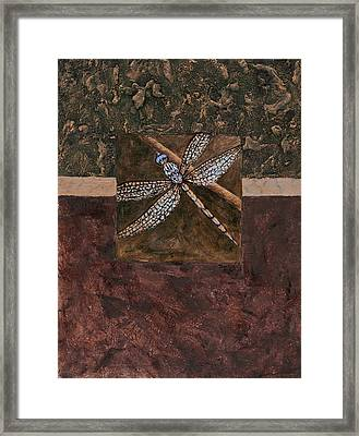 Dragonfly Framed Print by Darice Machel McGuire