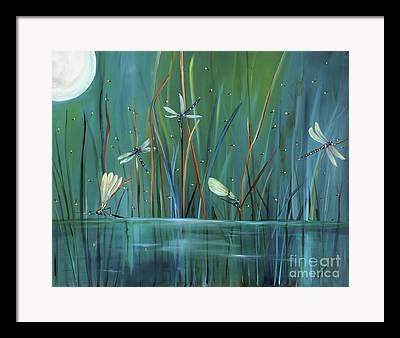 Water Scape Framed Prints