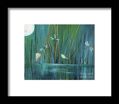 Dragonfly Framed Prints