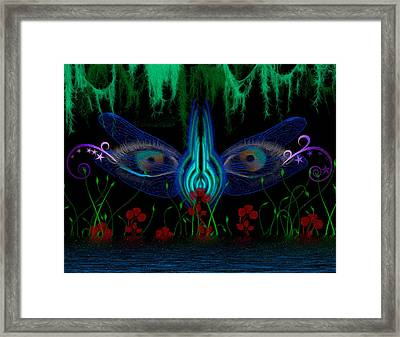 Dragonfly Eyes Series 6 Final Framed Print