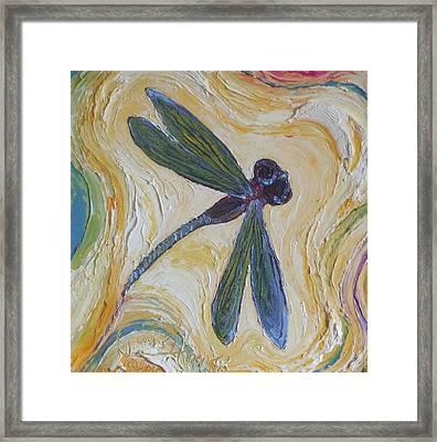 Dragonfly II Framed Print by Paris Wyatt Llanso