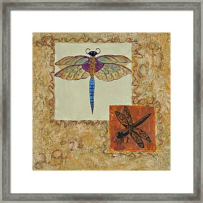 Dragonfly Two Framed Print