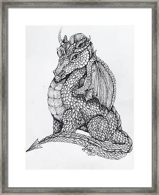 Dragon's Dream Framed Print