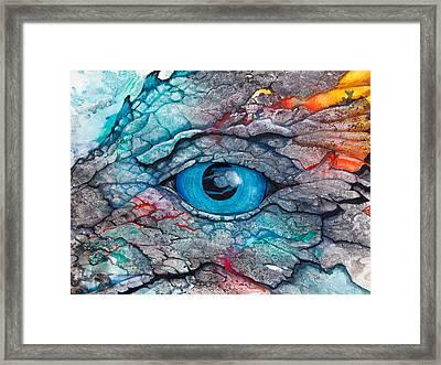 Dragon's Eye Framed Print by Patricia Allingham Carlson