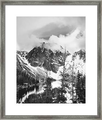Dragon's Tail Framed Print