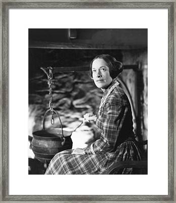 Dragonwyck, Anne Revere, 1946, Tm & Framed Print by Everett