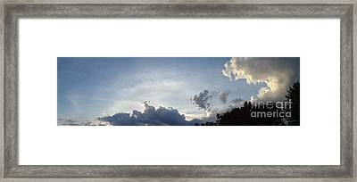Framed Print featuring the photograph Drama by Christina Verdgeline