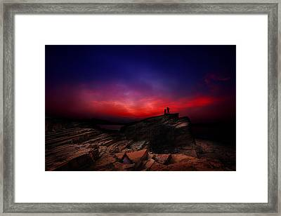 Dramatic Dawn Framed Print