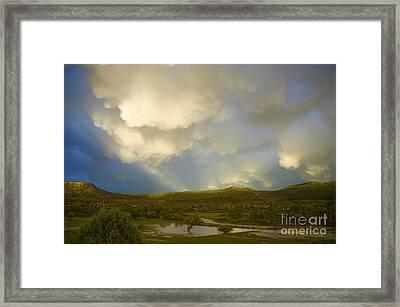 Dramatic Sky Framed Print by Jerry McElroy