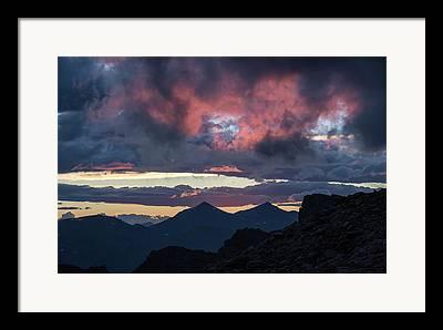 Mount Evans Wilderness Framed Prints