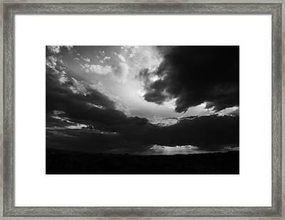 Dramatic Sky Framed Print by Stefan Dinov