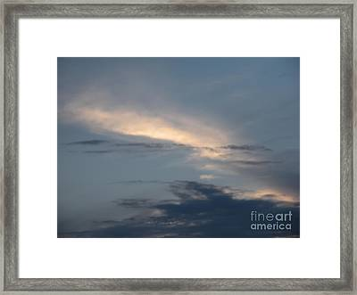 Dramatic Skyline Framed Print