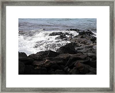 Dramatic Waters Framed Print