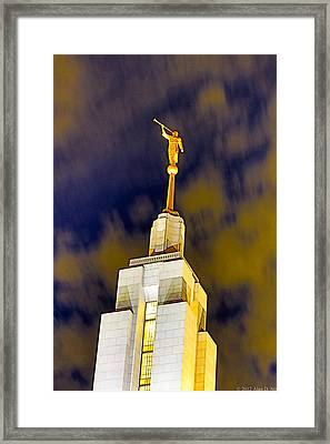 Draper Temple 9 Framed Print