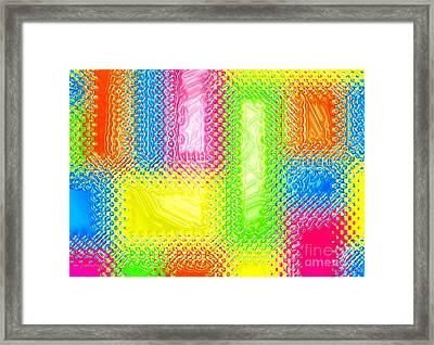 Drastic Plastic Framed Print
