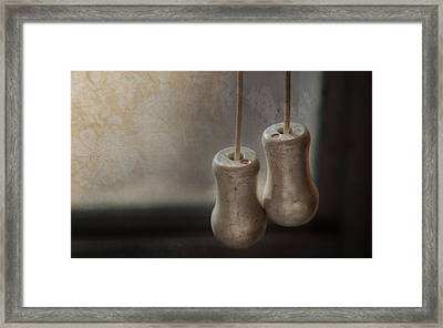 Draw The Shades Framed Print by Brenda Bryant