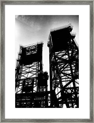 Drawbridge Framed Print by H James Hoff