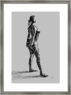 Drawing-01 Framed Print