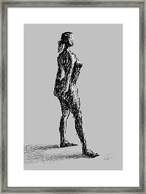 Drawing-01 Framed Print by Helal Uddin