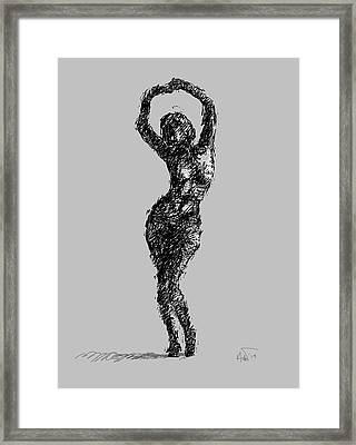 Drawing-02 Framed Print