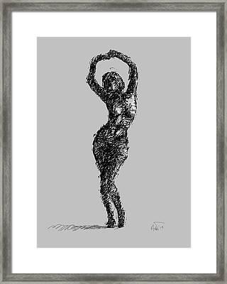 Drawing-02 Framed Print by Helal Uddin