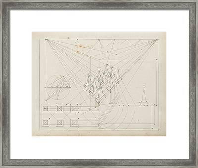 Drawing Linear Perspectives Framed Print