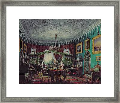 Drawing Room Of Empress Alexandra Feodorovna Framed Print