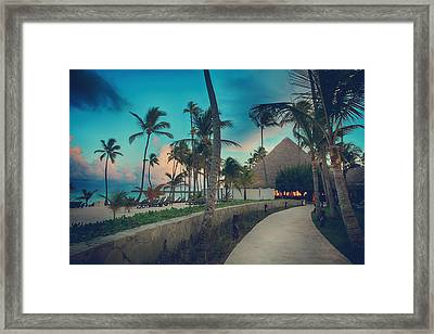 Drawn In Framed Print by Laurie Search