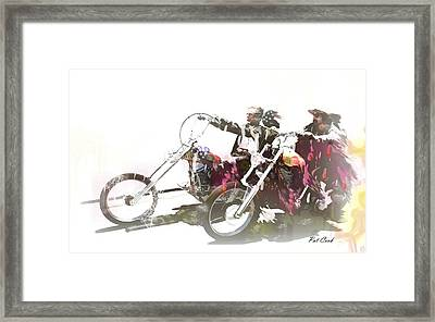 Drawn To Be Wild Framed Print