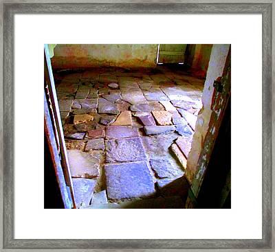 Drayton Basement Floor Framed Print