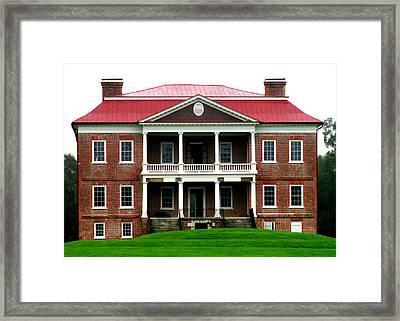 Drayton Hall Exterior Framed Print