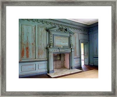 Drayton Hall Interior 1 Framed Print