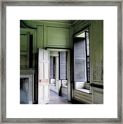 Drayton Hall Interior 2 Framed Print