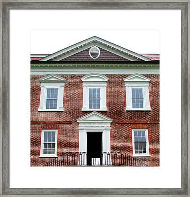 Drayton Hall Riverfront Framed Print