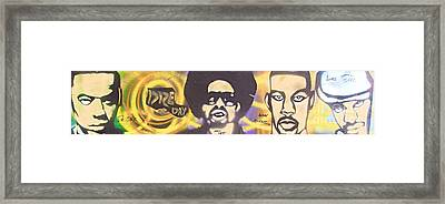 Dre Day Framed Print by Tony B Conscious