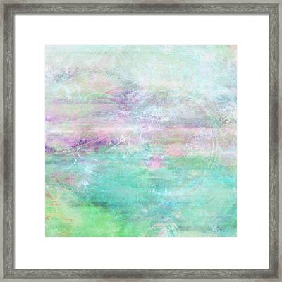 Dream - Abstract Art Framed Print by Jaison Cianelli