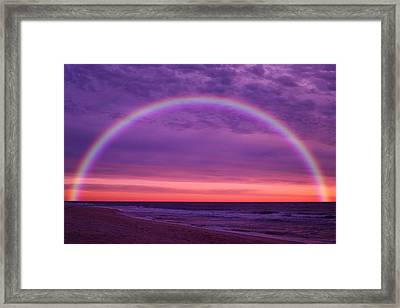 Dream Along The Ocean Framed Print