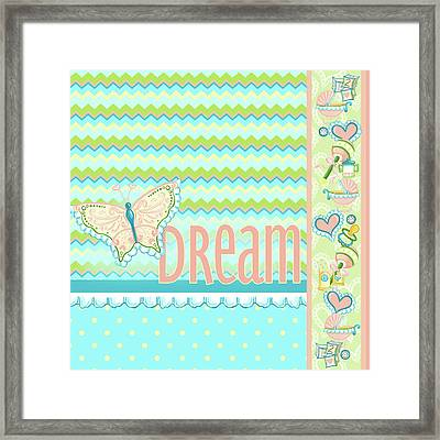 Dream And Discover I Framed Print by Andi Metz