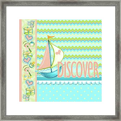 Dream And Discover II Framed Print by Andi Metz