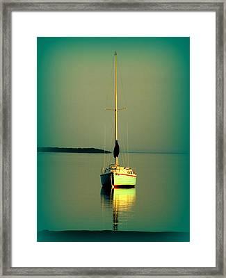 Dream Bay Framed Print by Karen Wiles
