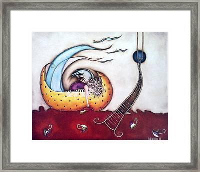 Dream Framed Print by Belen Jauregui