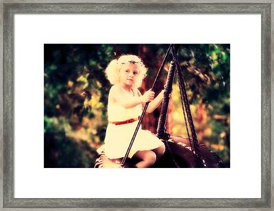 Dream Big Framed Print by Chastity Hoff