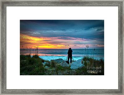 Framed Print featuring the photograph Dream Big Dreams In Color by Phil Mancuso