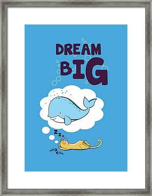 Dream Big Framed Print by Neelanjana  Bandyopadhyay