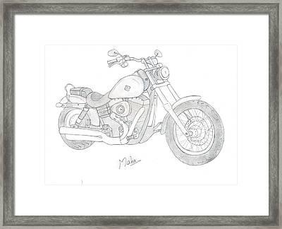 Dream Bike Framed Print by Mahalakshmi P