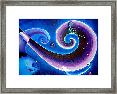 Dream Framed Print by Blima Efraim